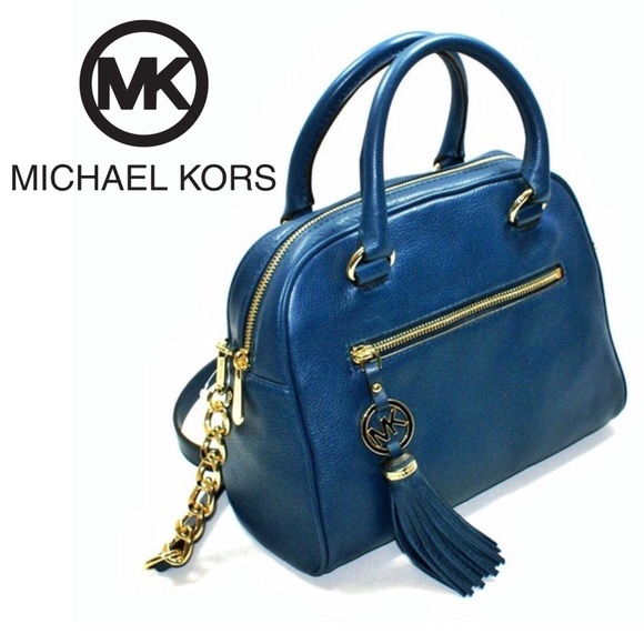 931f69d7098 Michael Kors Bags   Knox Tassel Leather Crossbody Bag   Poshmark